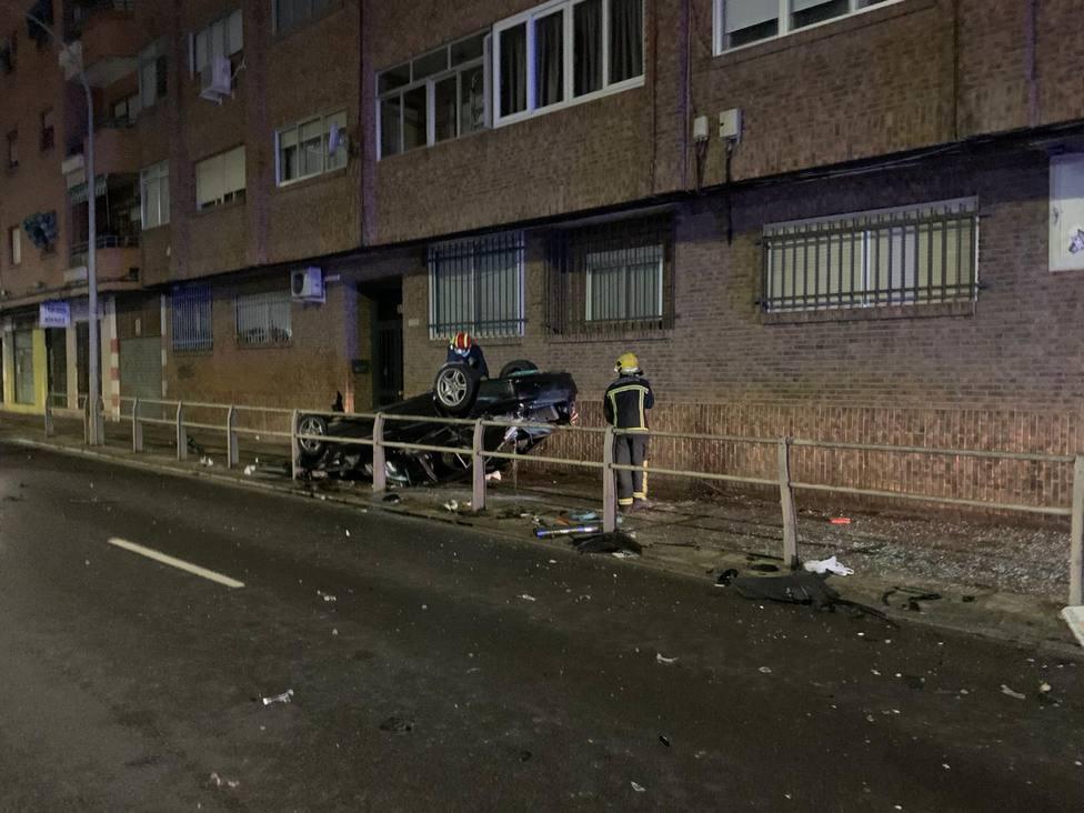 Accidente de tráfico en Ciudad Real