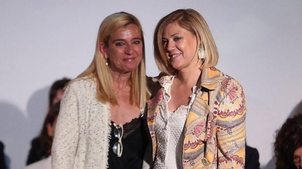 La alcaldesa y la nueva concejal, Monchi Fernández Nava