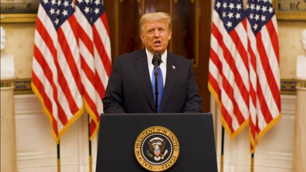 Trump, orgulloso de ser el primer presidente sin nuevas guerras