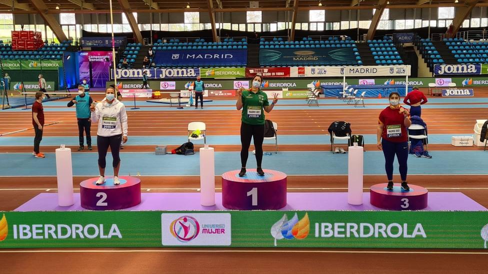 Úrsula Ruiz se colgó la plata en el campeonato de España