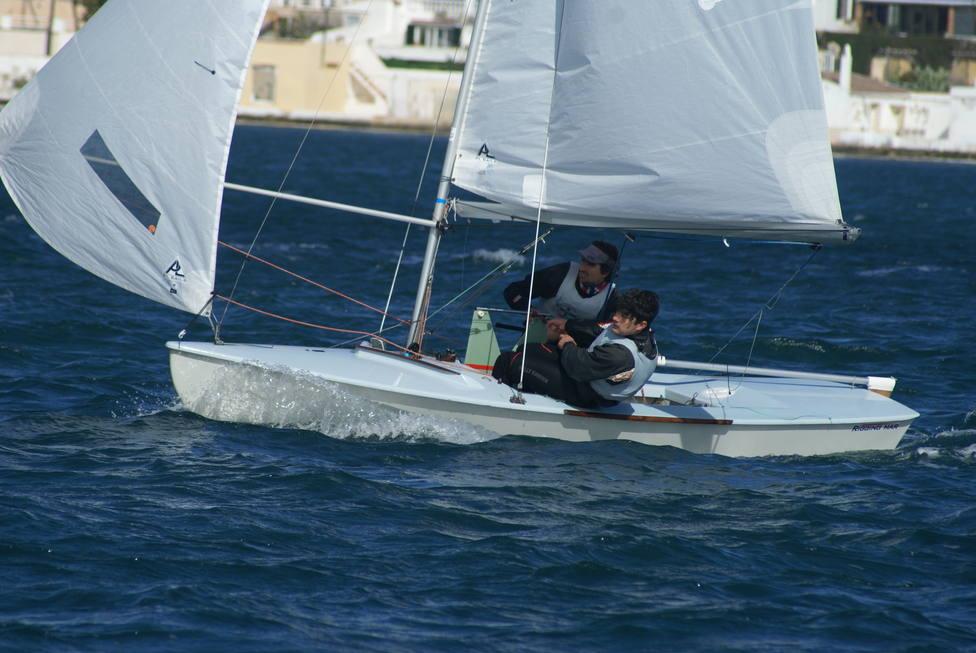 Jordi Triay y Cristian Vidal en el Trofeo Pro-Rigging de la clase Snipe, celebrado en Palma