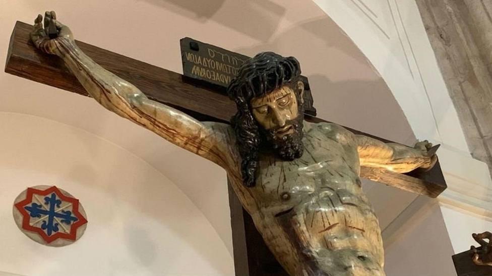 Santísimo Cristo de las Mercedes, de la Cofradía de las Siete Palabras de Valladolid