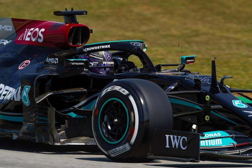 Primera tanda de entrenamientos libres del GP de España