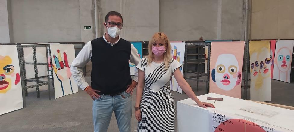 José Luís Costillas y Marta Fermín