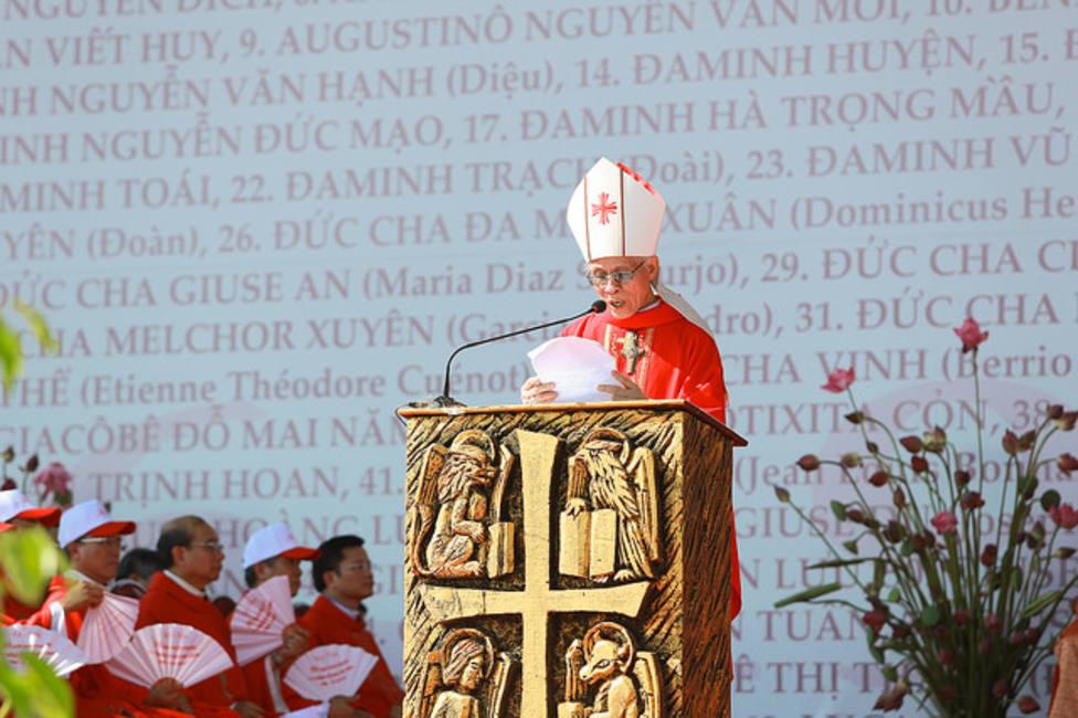Este viernes serán ordenados sacerdotes ocho jóvenes en Vietnam, en una Catedral que sobrevivió a las bombas
