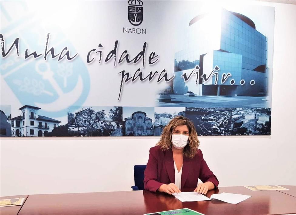 La alcaldesa de Narón, Marián Ferreiro. FOTO: Terra Galega