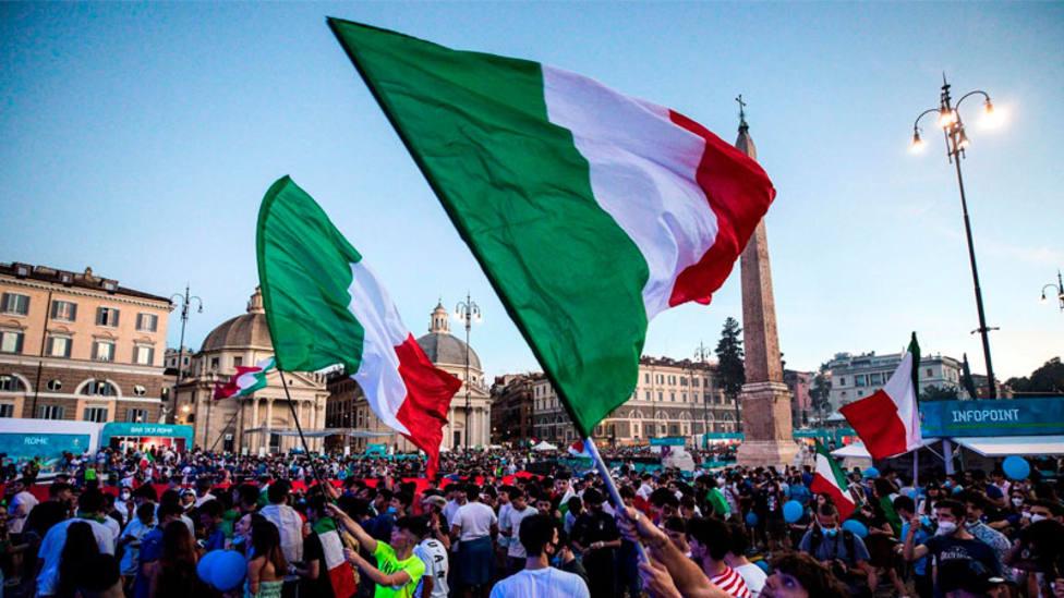 1000 italianos podrán estar en la final de Wembley sin necesidad de cuarentena