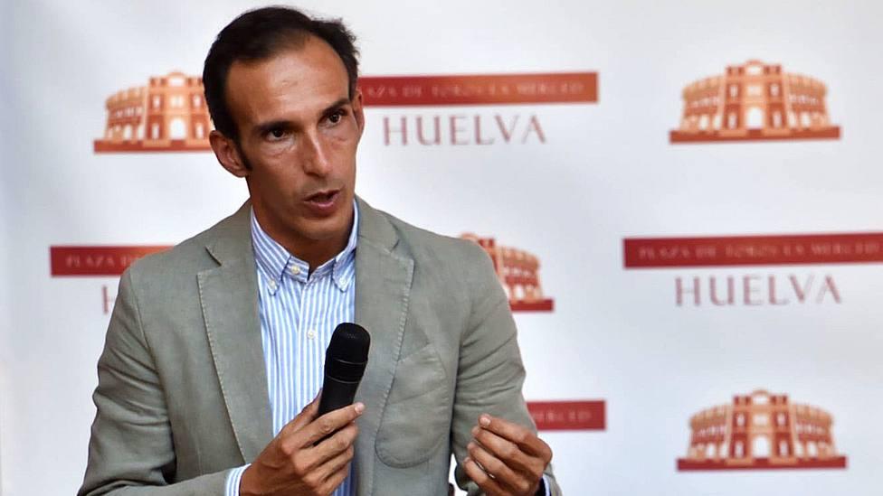 José Luis Pereda, empresario del coso de La Merced de Huelva