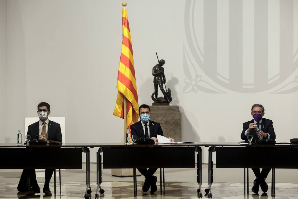 El Govern solicita una prórroga para depositar las fianzas de los exaltos cargos de la Generalitat