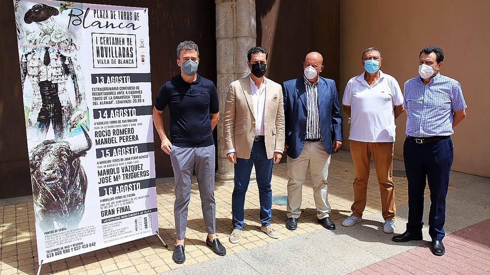 Acto de presentación de la feria de novilladas de Blanca (Murcia)