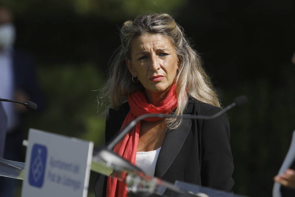 Yolanda Díaz sigue la estela de Pablo Iglesias y tensa las relaciones en el Gobierno de coalición