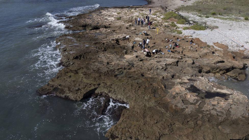 Yacimiento prehistórico del Prat de Cabanes