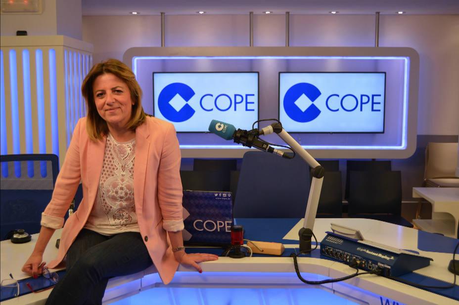 María Luisa Núñez, subdirectora de contenidos y Jefa de Producción de Herrera en COPE