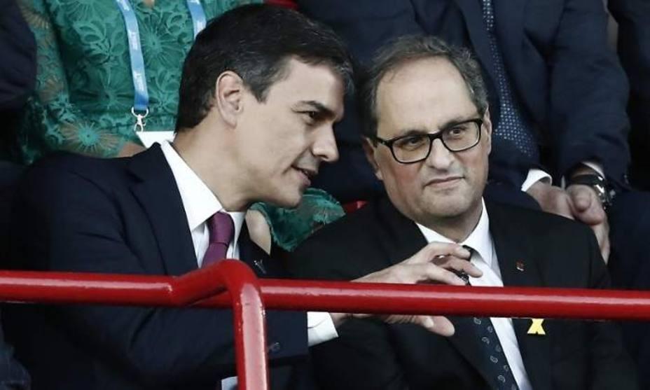 Sánchez y Torra buscan hoy la distensión pero sin expectativa de acuerdos