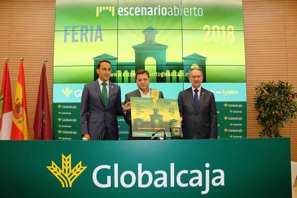 Foto presentación Escenario Abierto Globalcaja