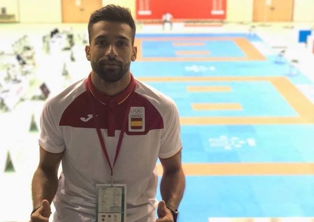 Raúl Cuerva luchará por el bronce del Mundial en kumite -67 kilos