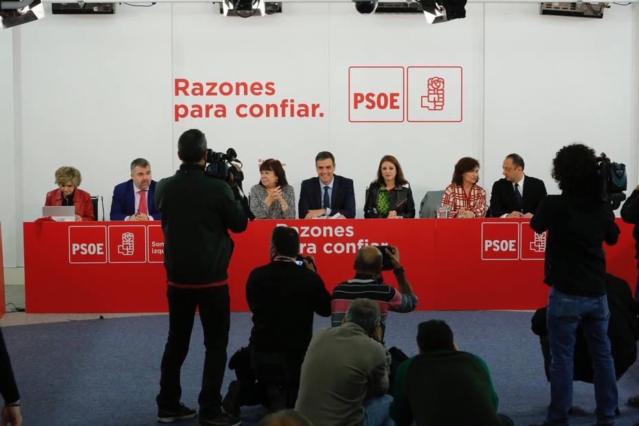 Pedro Sánchez reunirá mañana a la Ejecutiva Federal del PSOE para analizar la debacle en Andalucía