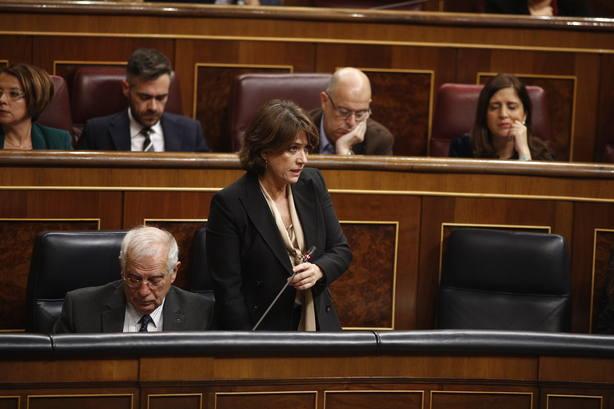 El PP pide que Batet y Delgado expliquen en el Congreso por qué Baleares impone hablar en catalán a jueces y abogados