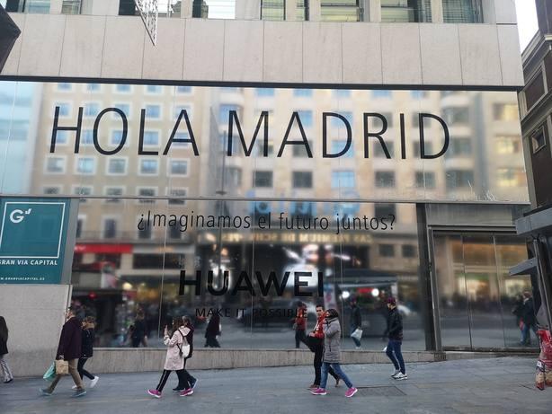 Huawei abrirá en Madrid y Barcelona a mediados de 2019 sus primeras flagship en España