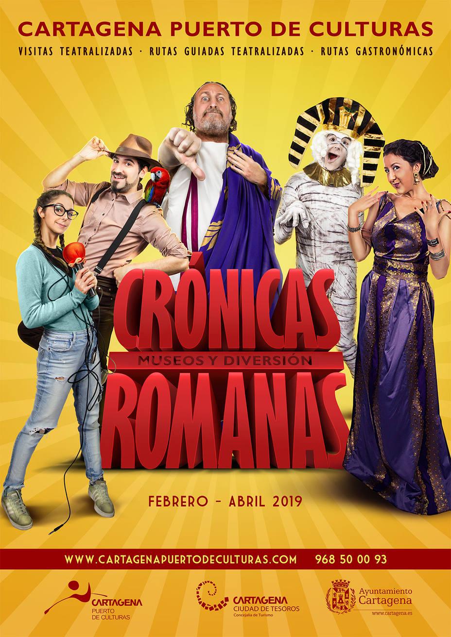 Las crónicas romanas de Puerto de Culturas