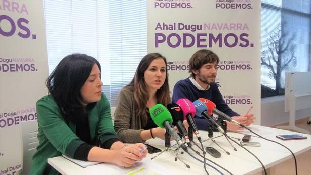 Podemos confía en que se aprueben los PGE y recuerda las negociaciones de la moción de censura