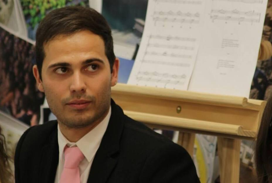 Christian Palomino Olías, pone letra al himno de Los Villares