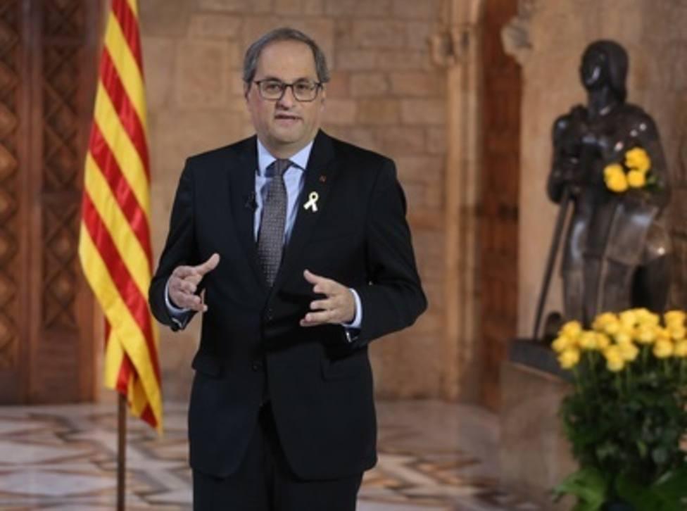 La JEC sancionará a Torra por su mensaje de Sant Jordi y correos a funcionarios