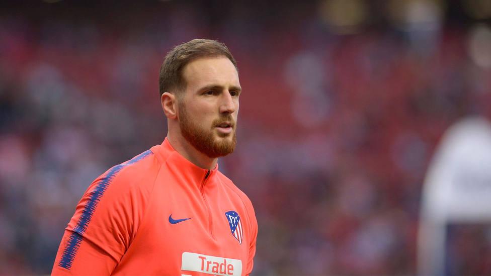 Jan Oblak, portero del Atlético de Madrid. CORDONPRESS