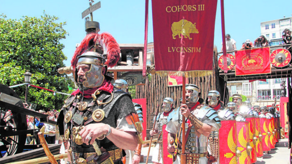 El Arde Lucus es ya una de las fiestas con más tradición en la ciudad de Lugo