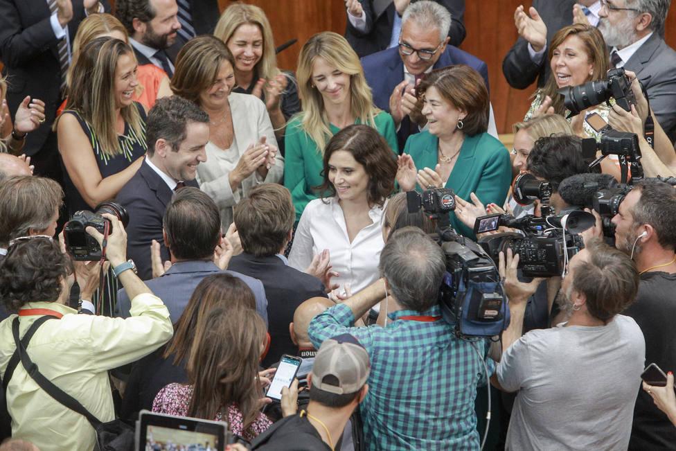 Ayuso dará a conocer su nuevo Gobierno el lunes por la tarde y asegura que no vetará a nadie, incluido Garrido