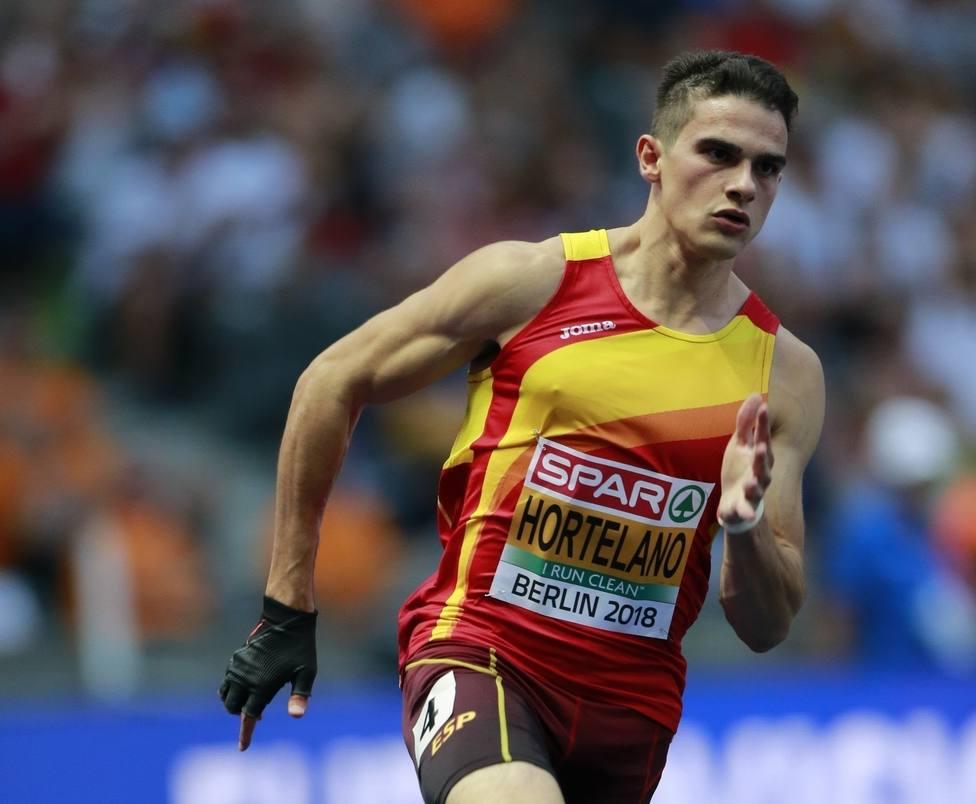 Bruno Hortelano renuncia al Mundial de Doha por su lesión en el tendón de Aquiles