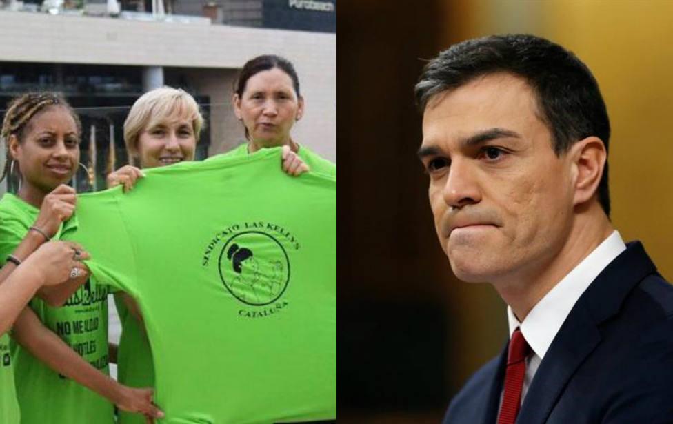 El inesperado comentario de la representante de las kellys que retrata a Pedro Sánchez frente a Rajoy