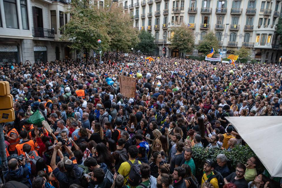 PícnicxRepública desconvoca la concentración de Barcelona tras reunir a unas 2.700 personas