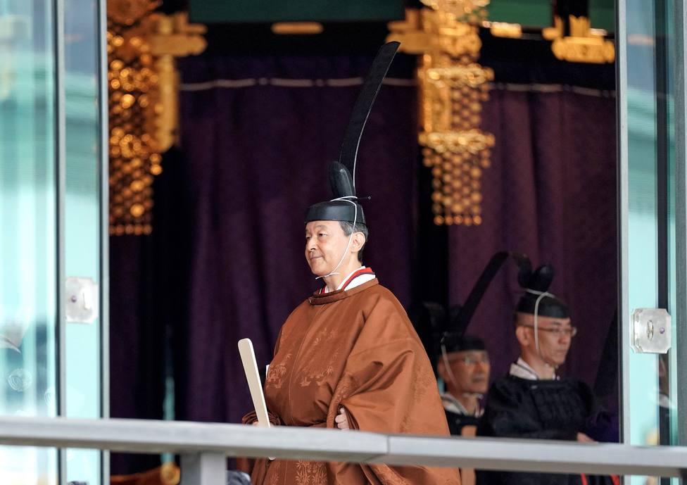 El emperador Naruhito de Japón