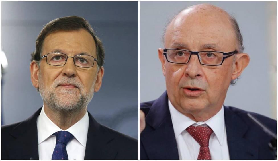 Rajoy y Montoro visitan COPE en una semana política clave para España