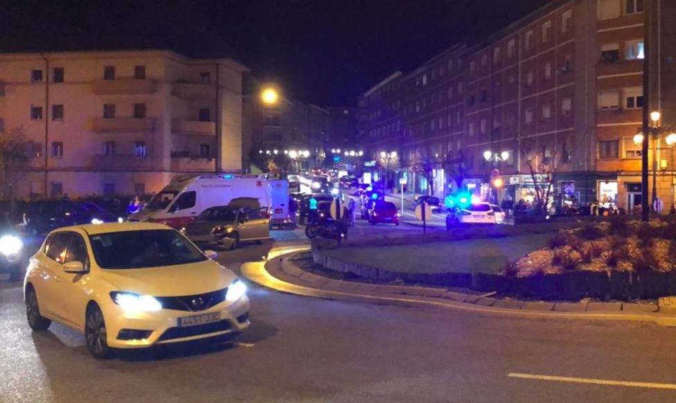 Dos mujeres, heridas graves tras un accidente en Oviedo