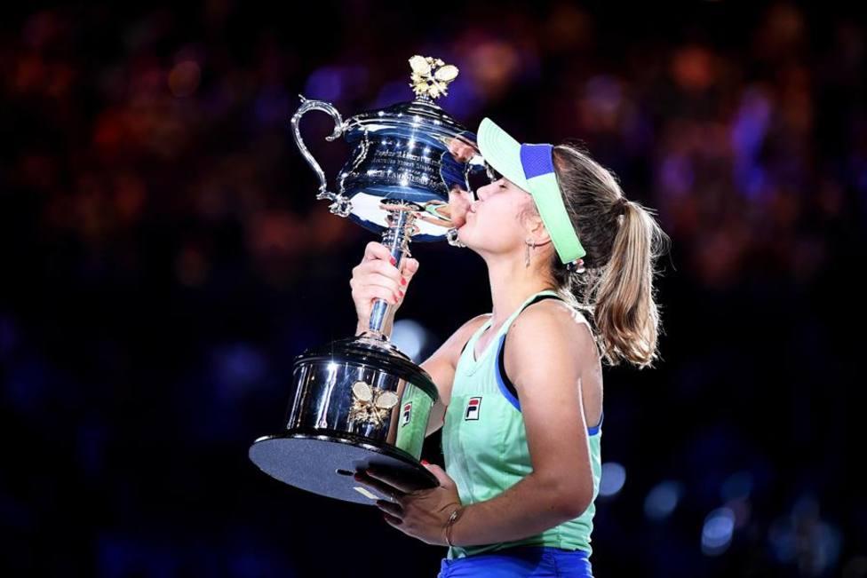 Sofia Kenin remonta a Muguruza y se proclama campeona del Open de Australia
