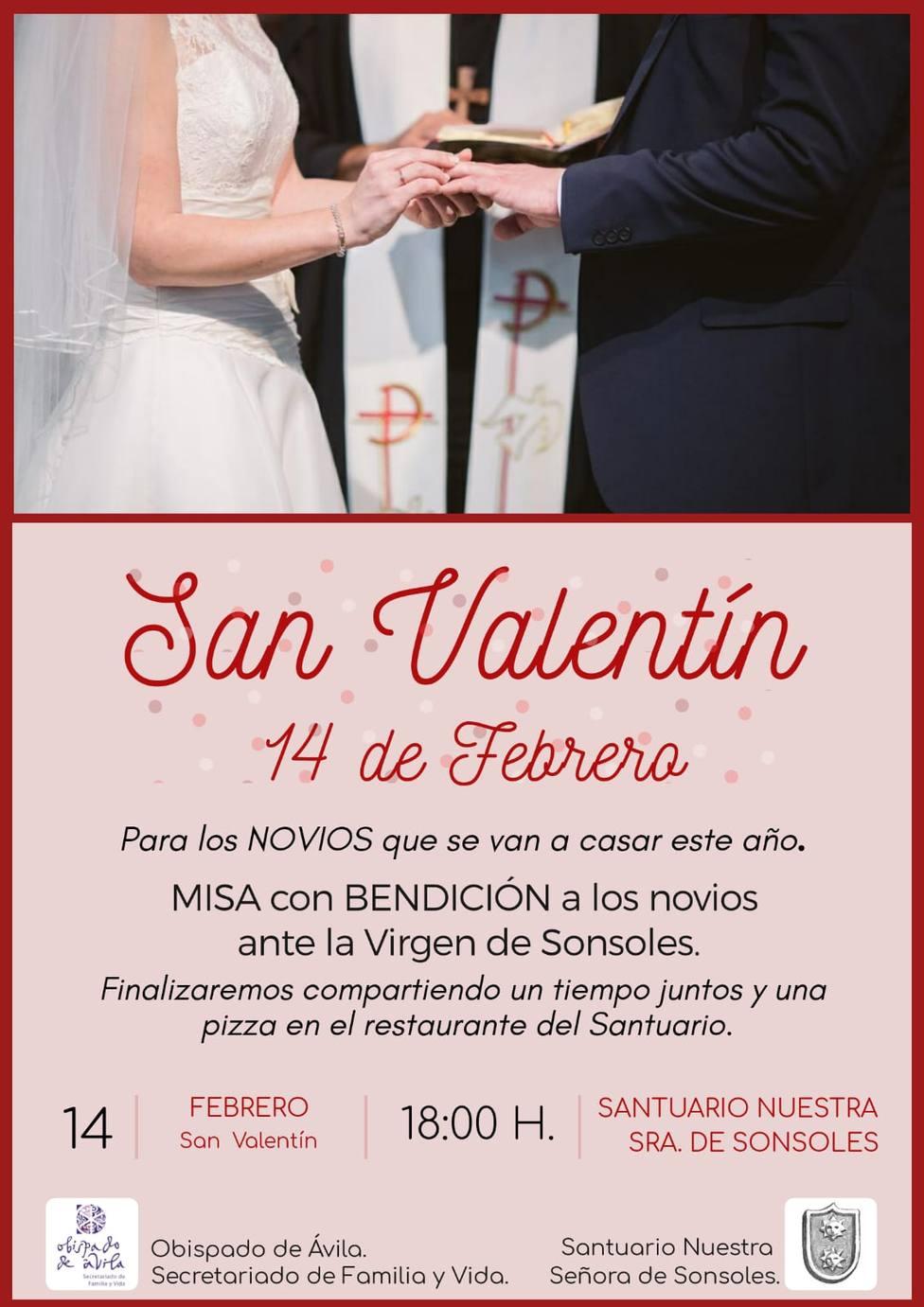 Misa San Valentín
