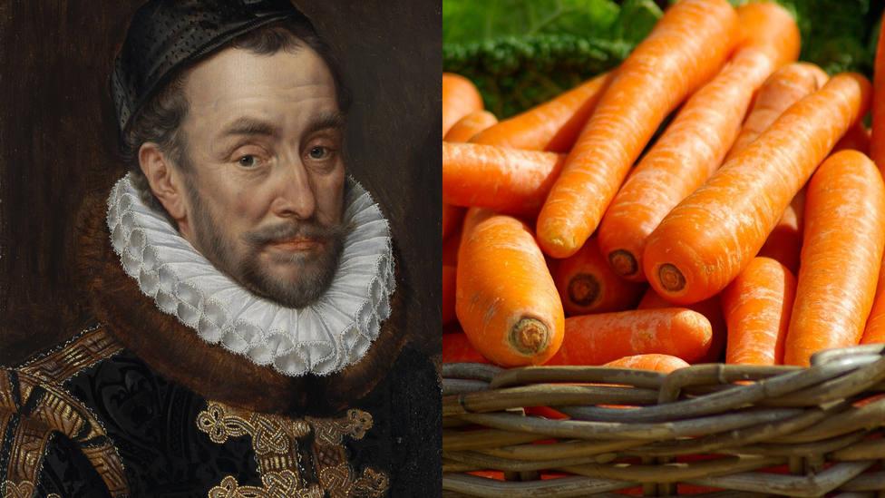 La relación entre el color naranja de las zanahorias y los Tercios españoles en Flandes