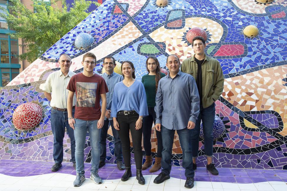Grupo de investigadores de la Universitat Jaume I