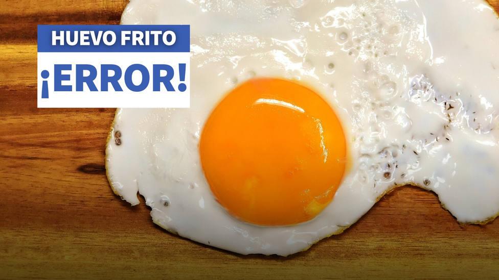 El error que no paras de cometer cada vez que haces un huevo frito