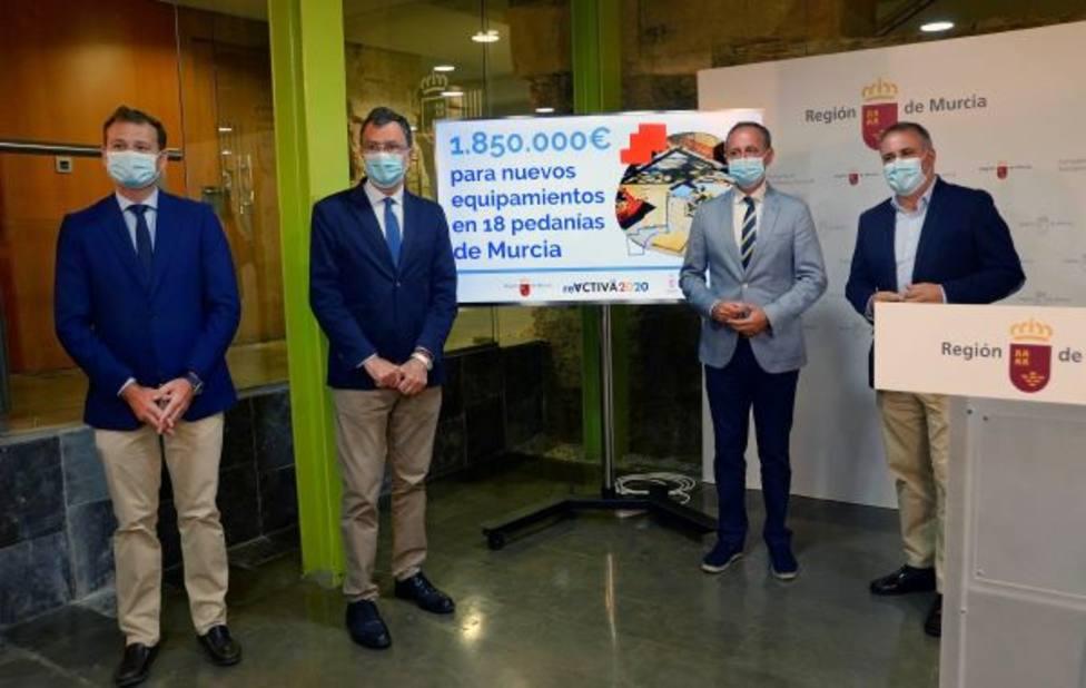 """Las pedanías reciben una inyección de 1,8 millones de euros """"con una alta rentabilidad social"""""""