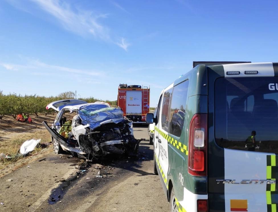 Accidente en A-131 en Chalamera