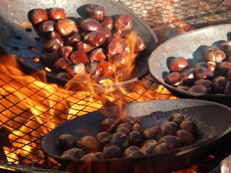 La castaña, un fruto seco de otoño con propiedades sorprendentes