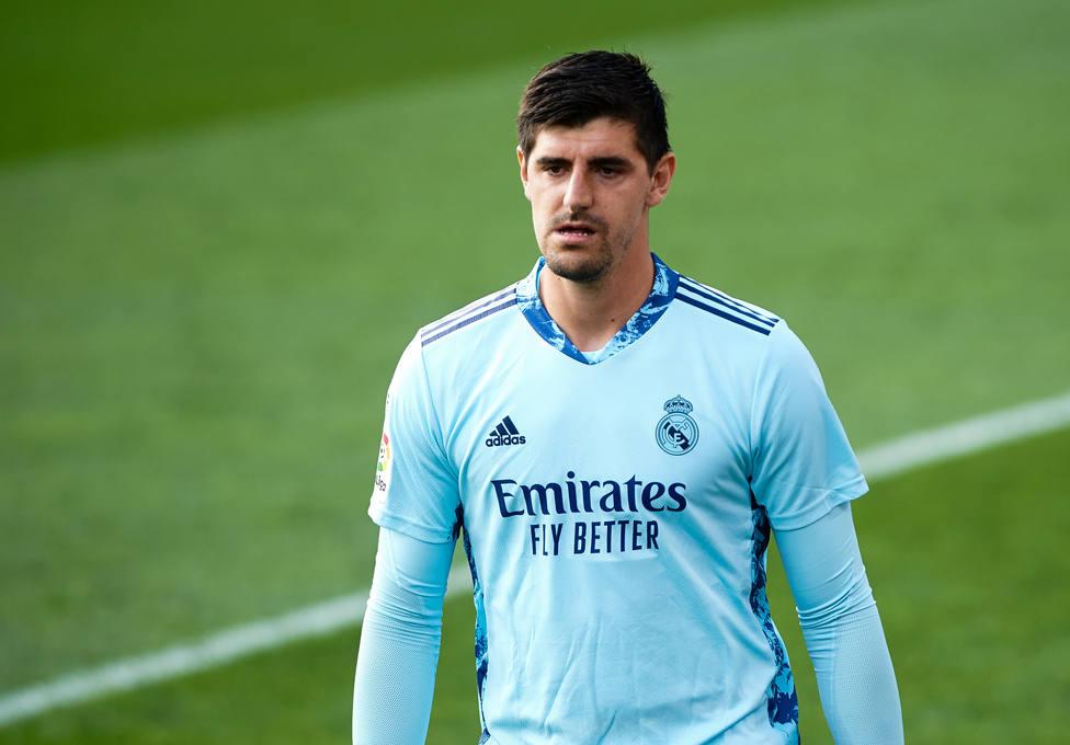 Courtois ha sido el mejor del Real Madrid en la segunda mitad