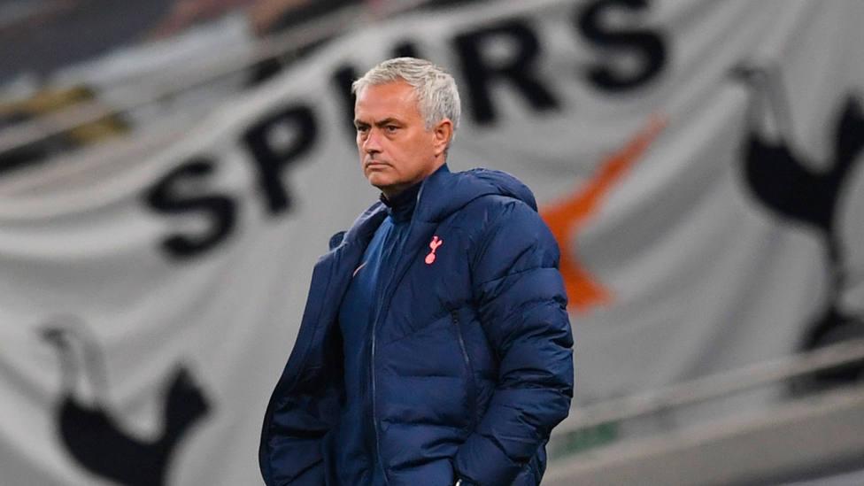 José Mourinho, técnico del Tottenham. EFE