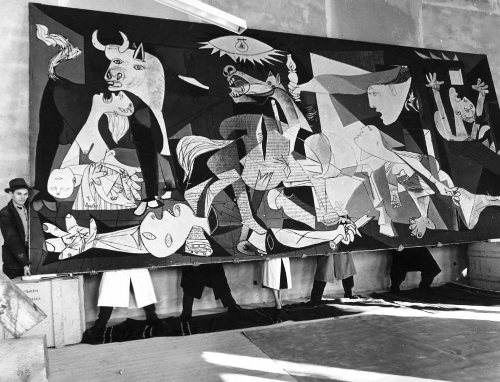 Picaso. El viaje del Guernica