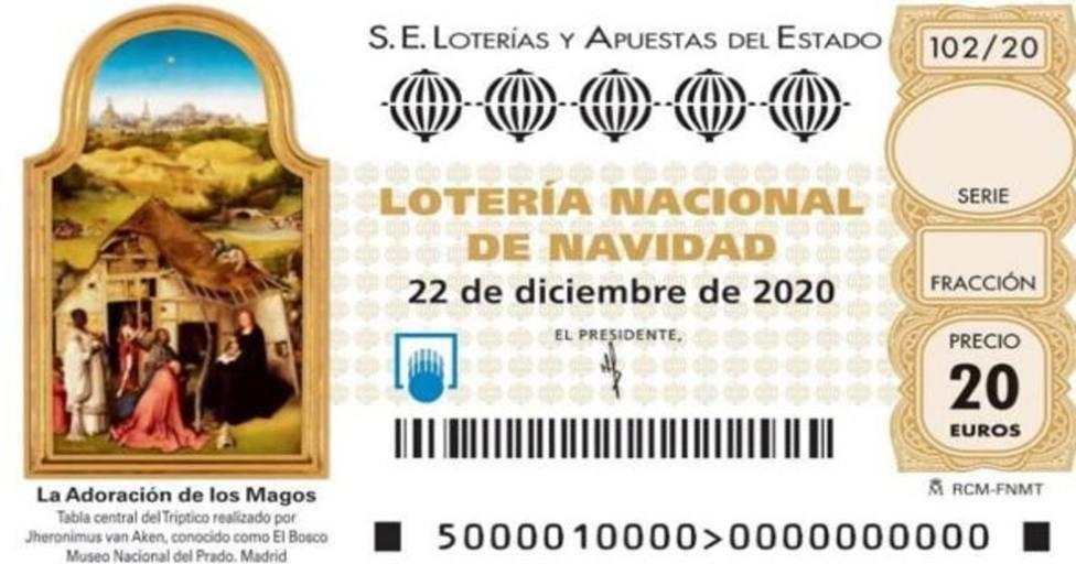 Décimo Lotería de Navidad de 2020