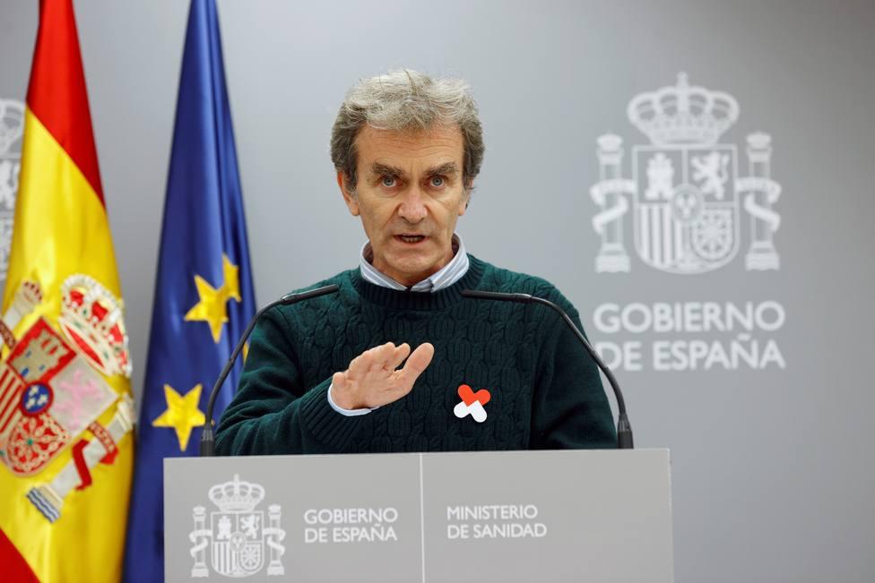 Fernando Simón: Seguimos manteniendo el esfuerzo diagnóstico y ha bajado la tasa de positividad