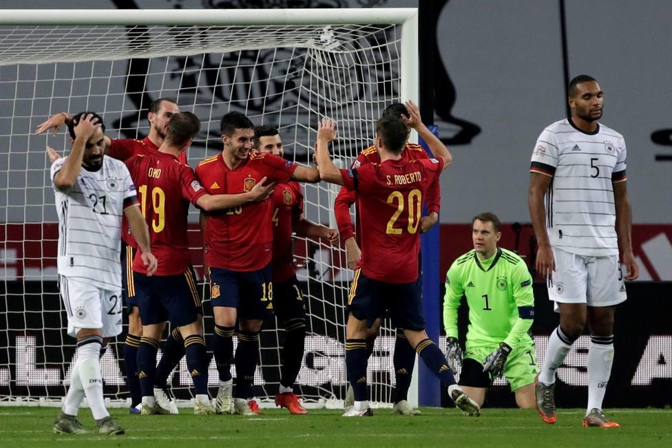 Spain - Germany